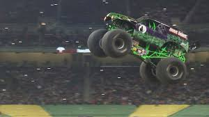 100 Monster Truck Oakland 1on1 With Grave Digger Driver Jon Zimmer NBCS Bay Area