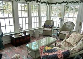 Shabby Chic Style Sunroom Furniture Beautiful In Category