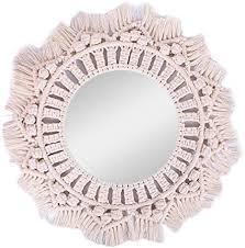 seasaleshop spiegel aus weide dekorativ boho hängender