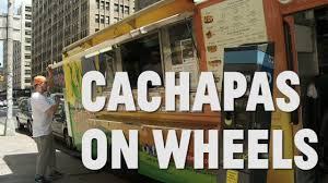 NYC Food Trucks: Cachapas On Wheels - YouTube