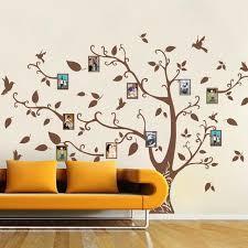 l arbre a cadre poomoo mur décor famille mémoire de l arbre oiseau wall sticker