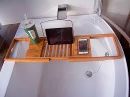 Bamboo Bath Caddy Nz by Bamboo Bathtub Tray Handcrafted Bath Tray Bathroom Shelves Bathtub