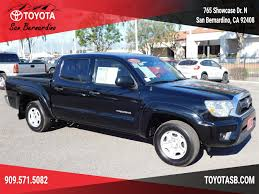 Used Certified One-Owner 2013 Toyota Tacoma - San Bernardino CA ... Then And Now 002014 Toyota Tundra 2013 Trd Off Road Exterior Interior Walkaround Used Tacoma 2wd Double Cab V6 Automatic Prerunner At Certified Preowned Base Px1213 Peterson Sport Autoblog For Sale In Amarillo Tx Lifted Black Cool Pinterest Tundra 5 October 2015 Mad Ogre 072013 Pocket Style Fender Flare Frontrear Kit 10 Facts That Separate The From All Other Truck Grade 46l V8 Warner Robins Ga