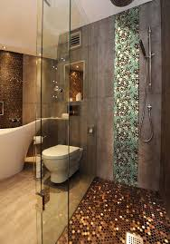 pebble mosaic tile bathroom on bathroom inside porcelain tile