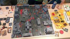 3d Printed Dungeon Tiles by 3d Printable Customizable Tabletop Game Necrovirus Aims For