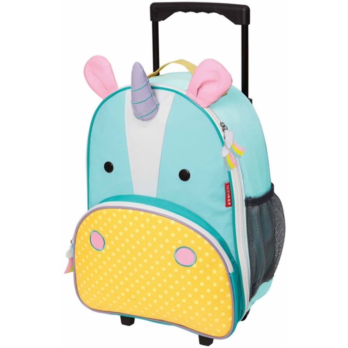 "Skip Hop Zoo Kids Rolling Luggage - 18"" - Unicorn"