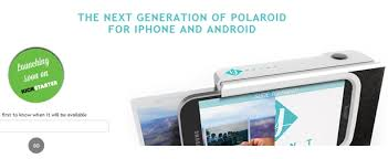 Prynt Case Portable printer for your smartphone