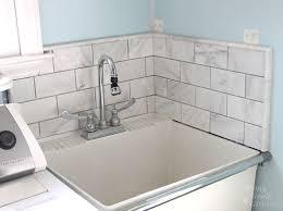 how to edge tile backsplash