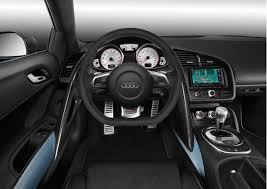 2012 Audi R8 GT Spyder Interior Dashboard