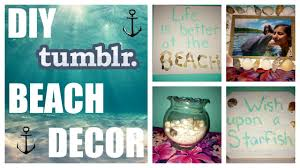 Diy Room Decor Hipster by Diy Beach Inspired Room Decor Youtube