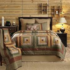 Tallmadge King Luxury Quilt Rustic Bedding Comforter Country Lodge Sham Sets