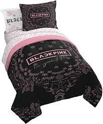 franco blackpink kill this 5 bed set includes comforter sheet set bedding soft fade resistant microfiber official