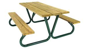p766 heavy duty southern yellow pine picnic table picnic