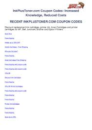 Inkplustoner.com-coupon-codes By Ben Olsen - Issuu Original Epson 664 Cmyk Multipack Ink Bottles T6641 T6642 Canada Coupon Code Coupons Mma Warehouse Houseofinks Offer Coupon Code Coding Codes Supplies Outlet Promo Codes January 20 Updated Abacus247com Printer Ink Cables Accsories Coupons By Black Bottle 98 T098120s Claria Hidefinition Highcapacity Cartridge Item 863390 Printers L655 L220 L360 L365 L455 L565 L850 Mysteries And Magic Marlene Rye 288 Cyan Products Inksoutletcom 1 Valid Today