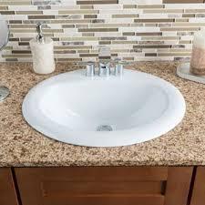 Install Overmount Bathroom Sink by Overmount Bathroom Sink Interior Design
