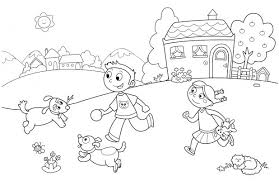 Free Printable Summer Coloring Pages For Preschoolers Adults Download Kindergarten Line Drawings Olympics Pag