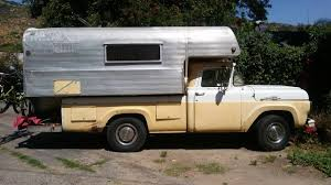 100 Sport Truck Rv Ford F250 With King Camper Side View Truck Camper