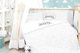 luxus baby bett set11 tlg komplettausstattung geschenk set kleiner waschbär