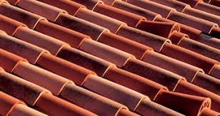 interlocking roof tile clay antique pica