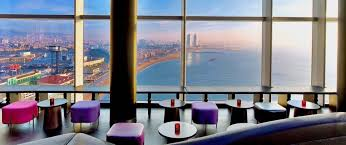 100 The W Hotel Barcelona Spain Eclipse Cocktail Bar Night Club At