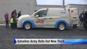 Salvation Army Rolls Out New Truck