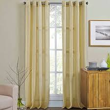 Bed Bath And Beyond Curtains 108 by Weston Grommet Top Window Curtain Panel Bed Bath U0026 Beyond