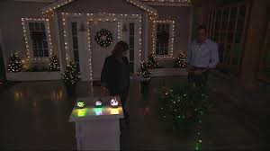 Qvc Christmas Tree With Remote by Bethlehem Lights 40ct Wide Angle 5mm Battery Op Light Strand On