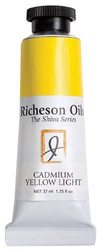 Jack Richeson Artist Oil Colours - Cadmium Yellow Light