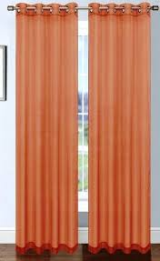 Sheer Voile Curtains Uk by Sheer Orange Curtains U2013 Teawing Co