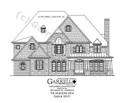 The Mountain View House Plans by Meadow View House Plan House Plans By Garrell Associates Inc