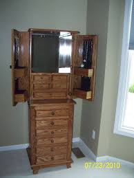 Large Jewelry Armoire - FineWoodworking Fniture Interior Accsories Design With Full Length Clever Mirror Jewelry Cabinet Laluz Nyc Home Bedroom Awesome Marshalls Armoire Black Standing Large Fewoodworking 25 Beautiful Armoires Zen Mchandiser Mid Century Modern Blackcrowus Extraordinary Vintage Corner Thomas Pacconi Jewelry Armoire Abolishrmcom Amusing Ideas Walmart Cheval Brandenberry Amish