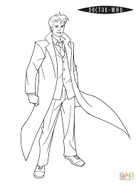 Click The Doctor Who Coloring Pages