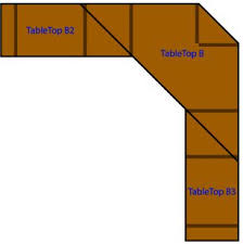 hey ana diy corner desk plans one and 1 4 sheet plywood corner