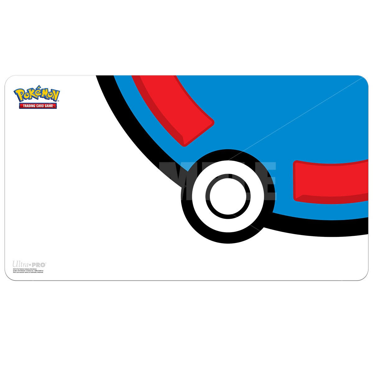 Ultra Pro Playmat: Pokemon - Great Ball