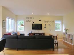 Wall Mounted Shelves Around Tv Decorating A Flat Screen