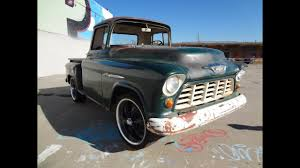 BARN FIND 1955 Chevrolet 3100 Pickup Farm Truck For Sale - YouTube