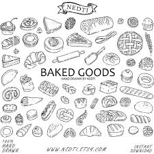 baked goods clipart