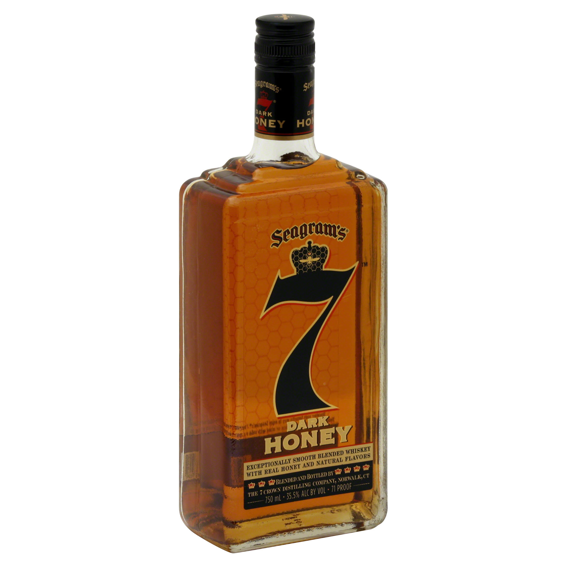 Seagram's 7 Crown Dark Honey Whiskey - 750ml