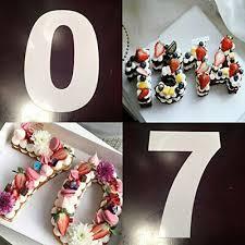 silikon backform zahl 0 9 geburtstag kuchen nummer