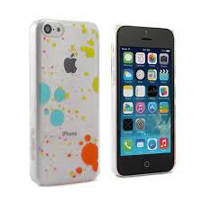iPhone 5C Case Splatter Paint