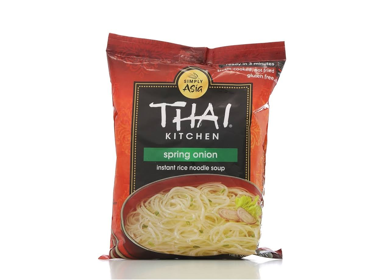 Thai Kitchen Instant Rice Noodle Soup - Spring Onion, 1.6oz