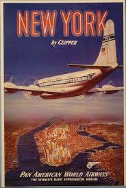 Pan Am Flight Poster