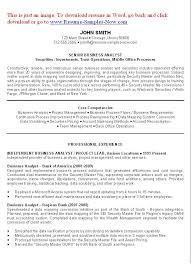 Business Analyst Resume Examples Objectives You Have To Create A Good For Then We Provide Lot Of
