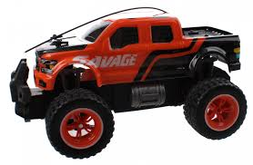 Jonotoys RC Monster Truck Big Wheel 25 Cm Orange - Giga-Bikes Tilburg