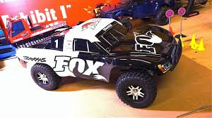 100 Slash Rc Truck RC ADVENTURES Unboxing A Traxxas 4x4 FOX Edition 24GHz 110