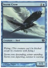 storm crows revenge 270 000 budget vintage mtg deck