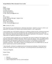 Cover Letter for Administrative assistant Position Uk