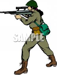 Royalty Free Soldier Clipart