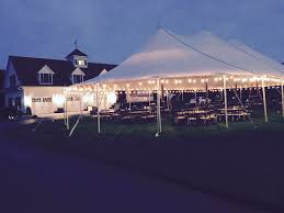 Sail Cloth Wedding Tent Dimeo Farm Weddings In New Jersey