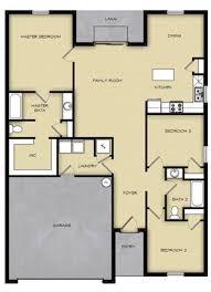 3 br 2 ba 1 story floor plan house design for sale fort myers